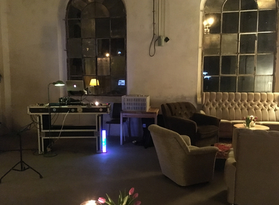 Setup zur Party am 4.2.17